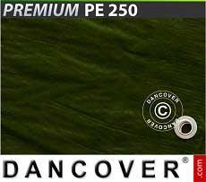 Telo 6x8m PE 250 g/m² Verde
