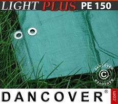 Telo 4x6m PE 150 g/m² Verde