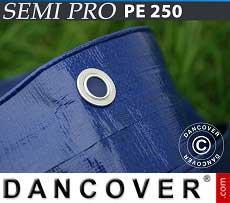 Telo 6x12m PE 250 g/m² Blu