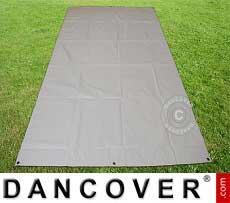Copertura terreno, 4,5x6,5m PVC, grigio