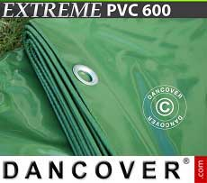 Telo 5x7m PVC 600g/m² Verde