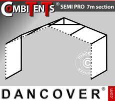Estensione di 2m per gazebo CombiTents® SEMI PRO (serie 7m)