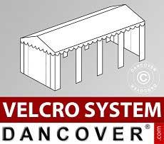 Copertura del tetto in Velcro per il tendone SEMI PRO Plus 6x8m, Bianco