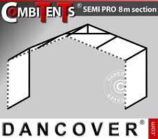 Estensione di 2m per gazebo CombiTents® SEMI PRO (serie 8m)
