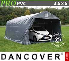 Tenda garage PRO 3,6x6x2,68m PVC con pavimento