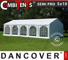 Tendone per feste, SEMI PRO Plus CombiTents® 5x10m, 3 in 1