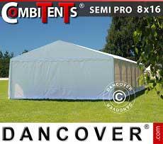Tendone per feste, SEMI PRO Plus CombiTents®; 8x16 (2,6)m 6 in1
