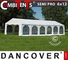 Tendone per feste, SEMI PRO Plus CombiTents® 6x12m, 4 in 1