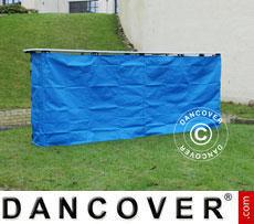 Panello laterale per bancone FleXtents PRO, 3m, Blu