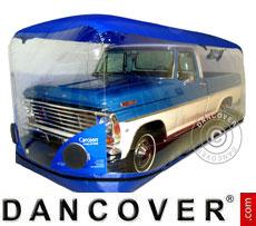 Carcoon 4,7x2 m Trasparente/Blu, Interno