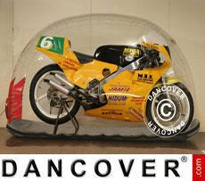 Bike Bubble 2,6x0,75 m Trasparente, Interno