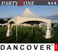 Tendone per feste PartyZone 4x4 m PVC