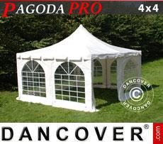Tendone per feste Pagoda PRO 4x4m, PVC