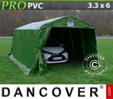 Capannone tenda PRO 3,3x6x2,4m PVC, Verde