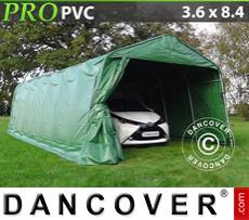 Capannone tenda PRO 3,6x8,4x2,7 PVC, Verde