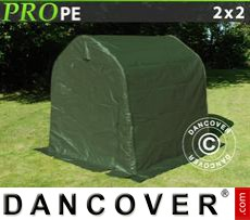 Capannone tenda PRO 2x2x2m PE, Verde