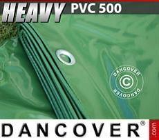 Telo 6x12m PVC 500 g/m² Verde