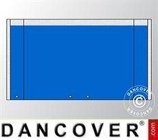 Parete terminale UNICO 5m con ampia porta, Blu