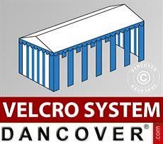Copertura del tetto in Velcro per il tendone Exclusive 6x12m, Bianco / Blu