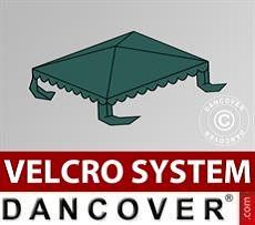 Copertura per il tetto del Tendone per Feste UNICO, PVC/Poliestere, 3x3m, Verde…