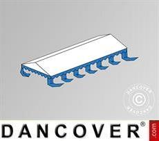 Copertura del tetto per il Tendone per feste Exclusive 6x12m PVC, Bianco / Blu