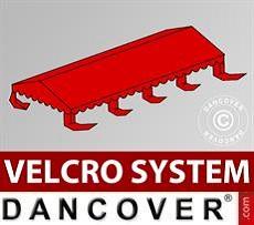 Copertura per il tetto del Tendone per Feste UNICO, PVC/Poliestere, 4x8m, Rosso…