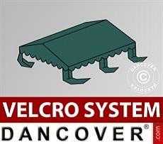Copertura per il tetto del Tendone per Feste UNICO, PVC/Poliestere, 4x4m, Verde…