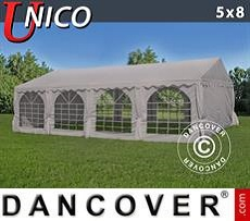Tendoni Gazebi Party UNICO 5x8m, Beige