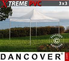 Tendoni Gazebi Party Xtreme 3x3m Trasparente