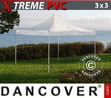 Tendoni Gazebi Party Xtreme 3x3m Trasparente