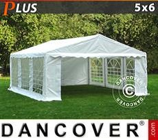 Tendoni Gazebi Party PLUS 5x6m PE, Bianco