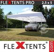 Tenda per racing PRO 2,5x5m Bianco