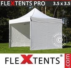 Tenda per racing  PRO 3,5x3,5m Bianco, inclusi 4 fianchi