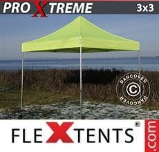 Tenda per racing Xtreme 3x3m Giallo Fluo/verde
