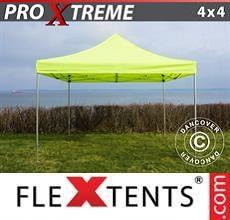Tenda per racing Xtreme 4x4m Giallo Fluo/verde