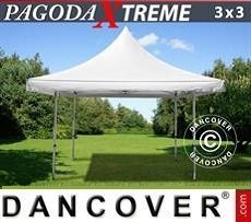 Tendoni Gazebi Party Pagoda Xtreme 3x3m / (4x4m) Bianco