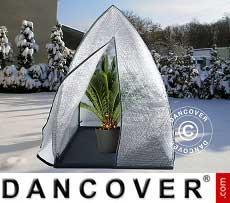 Tenda Invernale per la Protezione delle Piante, Igloo, 1,2x1,2x1,8m