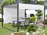 Tuinpaviljoenen voor occasioneel en permanent gebruik