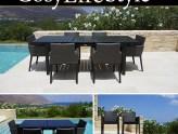 Tuintafels en tuinstoelen voor gezellige en comfortable diners