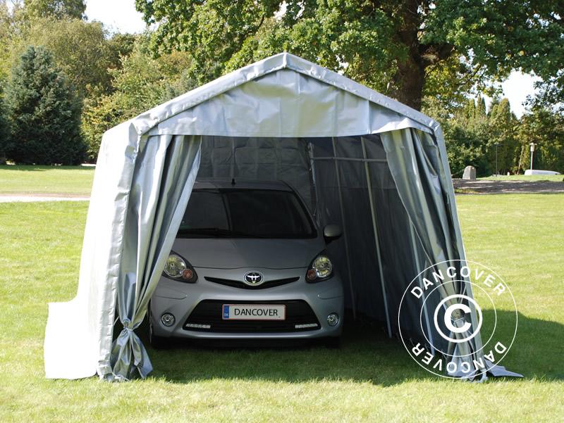 Portabel garasje – den fleksible løsningen
