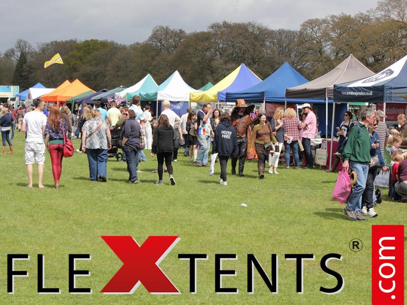 Høstfestivaler – det perfekte stedet for FleXtents quick-up telt