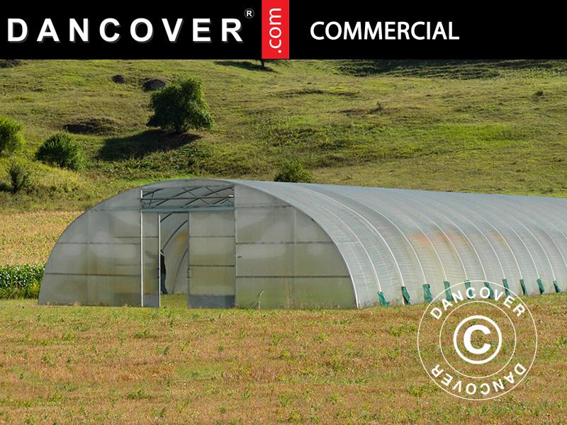 drivhus, kommersielle drivhustunnelene, Kommersielle drivhustunneler, drivhustunnelene, drivhustunneler, Dancover, Dancovershop