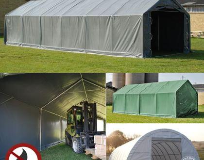Lagertält för flexibla och prisvärda förvaringslösningar