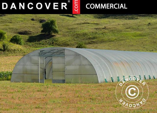 växthus, kommersiella växthustunnlar, Växthustunnlarna, växthusöverdrag, Växthustunnlarna, klassiskt växthus, kommersiella växthustunnel, kommersiella växthusen, dancover, dancovershop, Kommersiella växthustunnelar