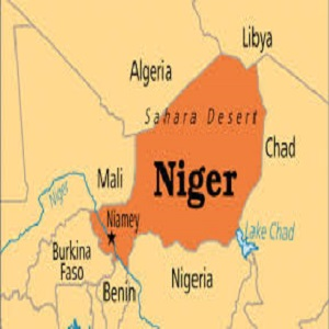 niger map small