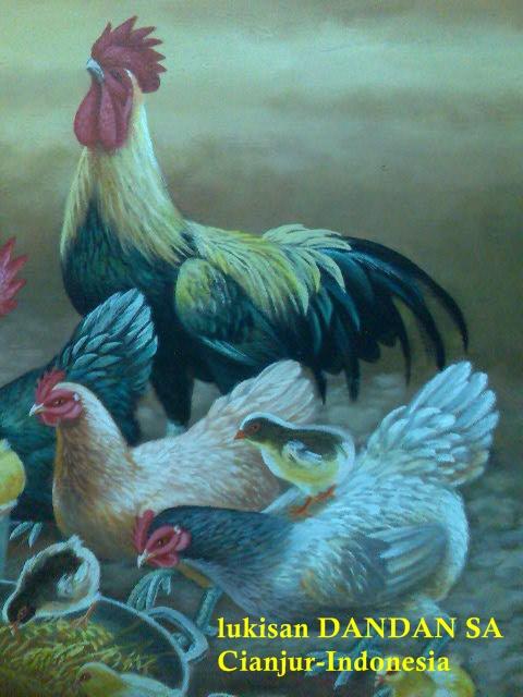 Lukisan Binatang  Lukisan  INDONESIA ART PAINTING