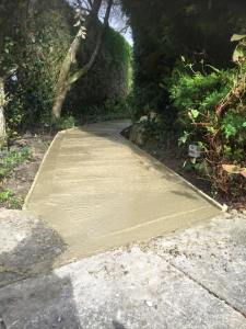 Path providing disabled access