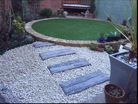 Garden landscaping in Trowbridge