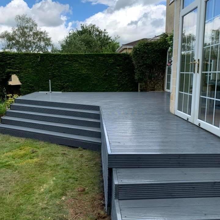 Decking steps