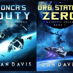 Galactic Arena New scifi covers 2017